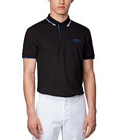 BOSS Men's Paddy Pro Black Polo Shirt