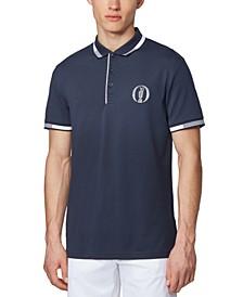 BOSS Men's Paddy BO Dark Blue Polo Shirt