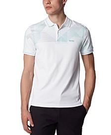 BOSS Men's Paule 5 White Polo Shirt