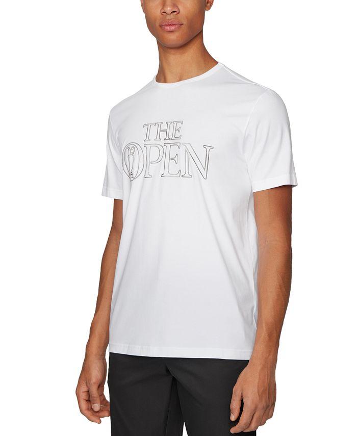 Hugo Boss - Men's Tee BO White T-Shirt