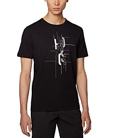 BOSS Men's Tee 2 Black T-Shirt