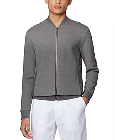 BOSS Men's Skiles Grey Sweatshirt