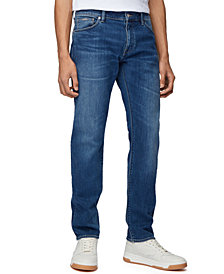 BOSS Men's Maine Blue Jeans