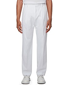 BOSS Men's Pero White Pants