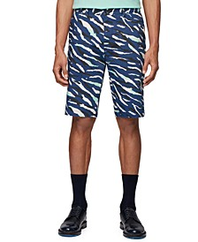 BOSS Men's Rigan Dark Blue Shorts
