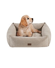 Charlie Large Memory Foam Pet Bed with Removable Cover