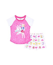 Big Girls 2 Piece Pajama Set