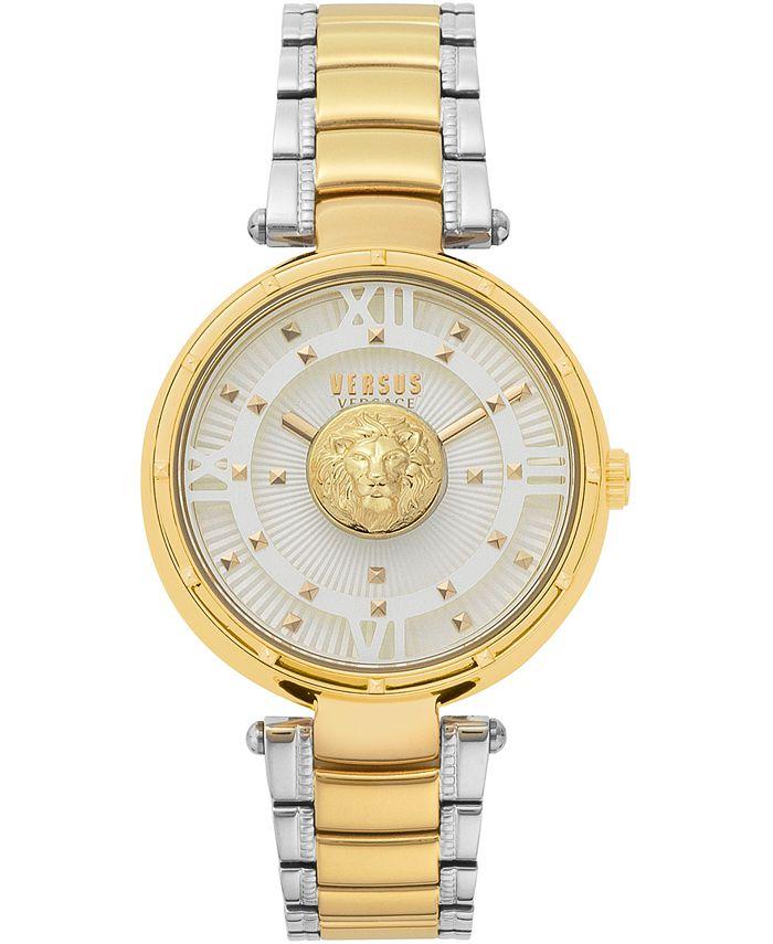 Versus by Versace - Women's Moscova Two-Tone Stainless Steel Bracelet Watch 38mm