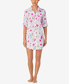 Lauren Ralph Lauren Printed Sleep Shirt Nightgown