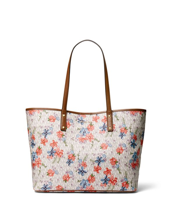 Michael Kors Carter Large Signature Floral Tote