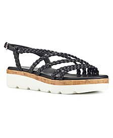 Batter Braided Platform Sandals