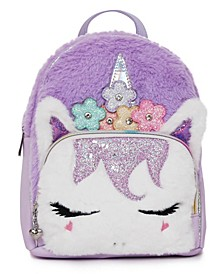 Big Girls Miss Gwen Unicorn Plush Mini Backpack