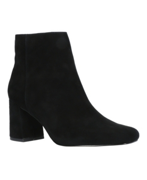 Square Toe Ankle Boots Women's Shoes