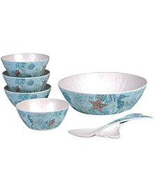 Beachcomber 7-Pc. Salad Set