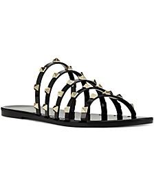 Women's Charli Flat Slide Jelly Sandals