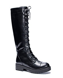 Women's Vandal Laceup Tall Boots