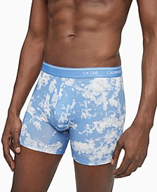 Men's CK1 Festival Printed Cotton Boxer Briefs