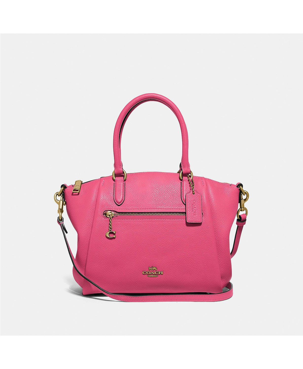 COACH Polished Pebble Leather Elise Small Satchel – NOW ONLY 7.93! LAST ACT! Originally 5!