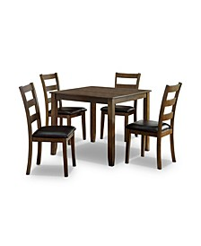 Chesterton 5 Piece Square Dining Table Set