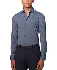 BOSS Men's Jason Dark Blue Shirt