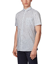 BOSS Men's Magneton White Shirt