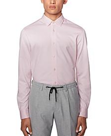 BOSS Men's Ronni Light Pink Shirt