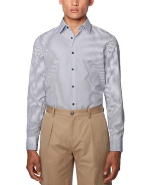 Boss Men's Jano Blue Shirt