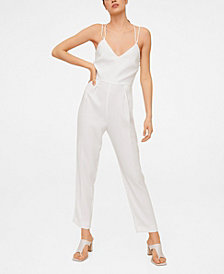 Mango Cross Back Jumpsuit
