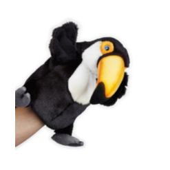 National Geographic Plush Hand Puppets - toucan Interactive Qr Code