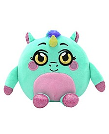 Squeezy, Squishy, Moldable Plush, Stuffed Animal, Unicorn