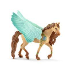 Schleich, Bayala, Decorated Pegasus Stallion Toy Figurine
