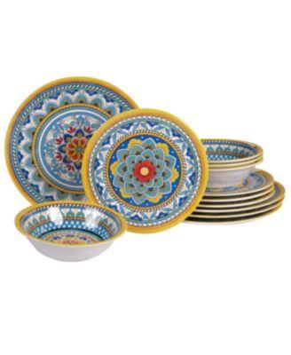 Portofino Melamine 2-Pc. Platter Set