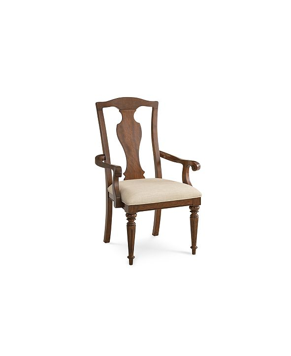 Furniture Orle Arm Chair, Created for Macy's