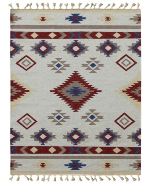 Amer Rugs Artifacts Ari-6 Red 3' X 5' Area Rug In Gray