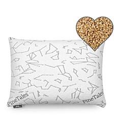 Millet Hulls Pillow with Skin Friendly Designer Bamboo Pillowcase