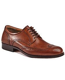 Johnston & Murphy Men's Harmon Wingtip Dress Shoes
