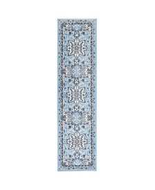 "Haven Lane Hal04 Mist 1'8"" x 7'2"" Runner Rug"