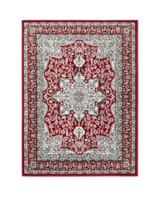 """Haven Lane Hal06 Red 5'2"""" x 7'2"""" Area Rug"""