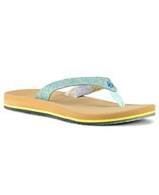 Women's Mento Streamtail Flip-Flop Sandals