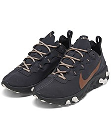 Women's React Element 55 HS Casual Sneakers from Finish Line