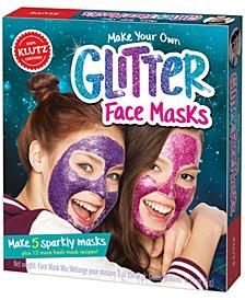 Make Your Own Glitter Face Masks
