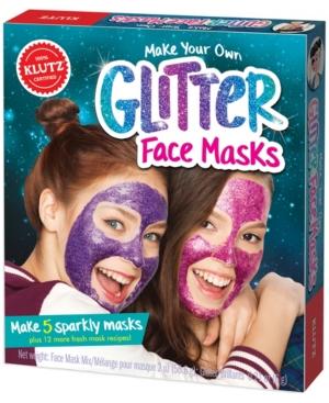 Klutz Make Your Own Glitter Face Masks