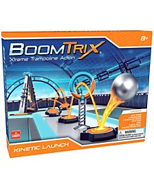 Boomtrix Xtreme Trampoline Action - Kinetic Launch