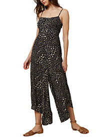 O'Neill Juniors' Jaladra Printed Wide-Leg Jumpsuit
