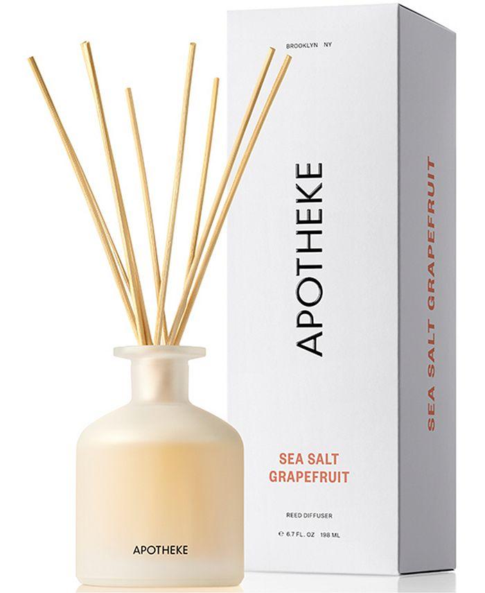 APOTHEKE - Sea Salt Grapefruit Reed Diffuser, 6.7-oz.