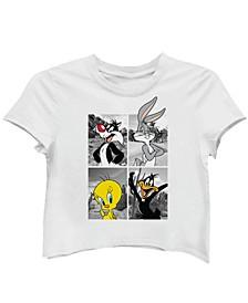 Juniors' Looney Tunes Photo T-Shirt
