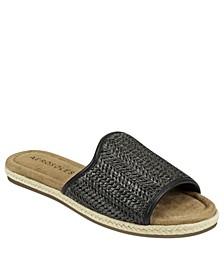 Women's Denville Flat Slide Sandal