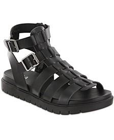 Annie Gladiator Lug Sole Sandals