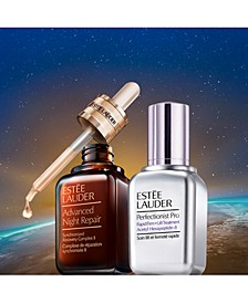 Buy a 1.7oz or larger Advanced Night Repair Serum or Perfectionist Pro Firm + Lift Treatment, Get a Second 50% Off!