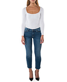 Hudson Jeans Nico Cigarette Raw-Hem Jeans